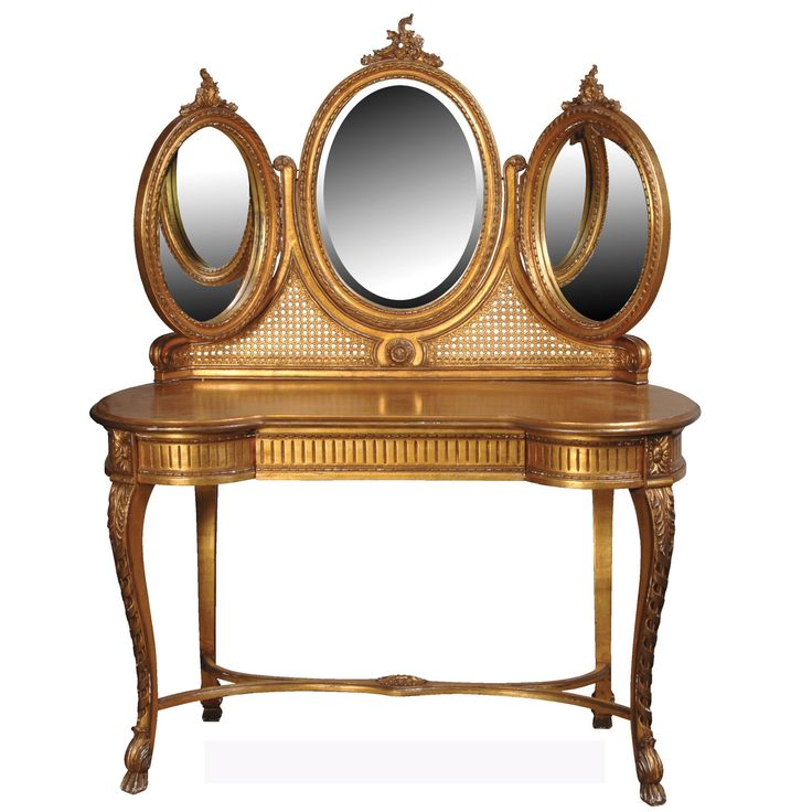 Based on Louis XIV furniture designs  this Royal Gold Dressing Table will  inspire a golden. 12 best Glamorous French Style Dressing Tables images on Pinterest
