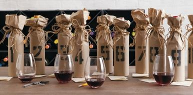 Mystery wine tasting party....awesome idea!