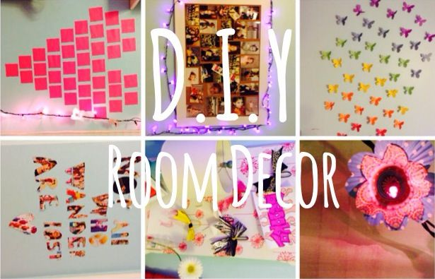 Diy girly room decor room ideas pinterest beautiful for Cute easy diy bedroom ideas