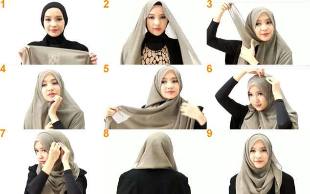 hijab tutorial mode http://saelekko.com/inilah-tutorial-hijab-modern-yang-lebih-anggun/
