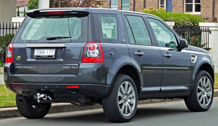 Land Rover Freelander - Wikipedia, the free encyclopedia