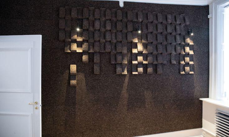 GrapeDesign You saved to Impact random wall Akustisk kork væg, acoustic cork wall, væg dekoration, wall decoration, cork, kork, wall covering, væg beklædning