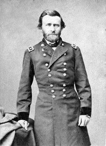 General Ulysses S. Grant during the American Civil War.