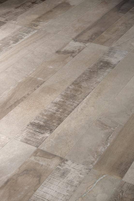 Inessence by Provenza is a mix of recycled wood and stone-cement