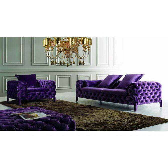 Modern design fabric sofa set online