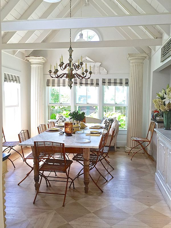 Cynthia Everets Nantucket House Kitchen. Home Decor And Interior Decorating Ideas. Exposed Beams