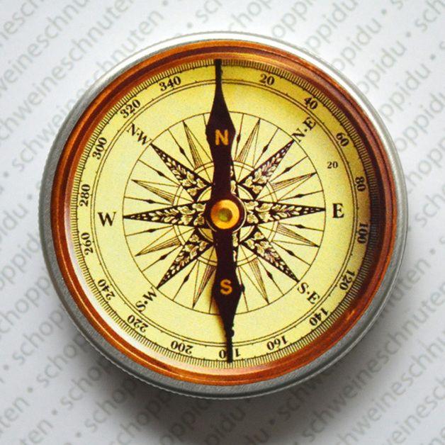 Dosen - Cremedöschen Kompass Antik - ein Designerstück von Schweineschnuten bei DaWanda