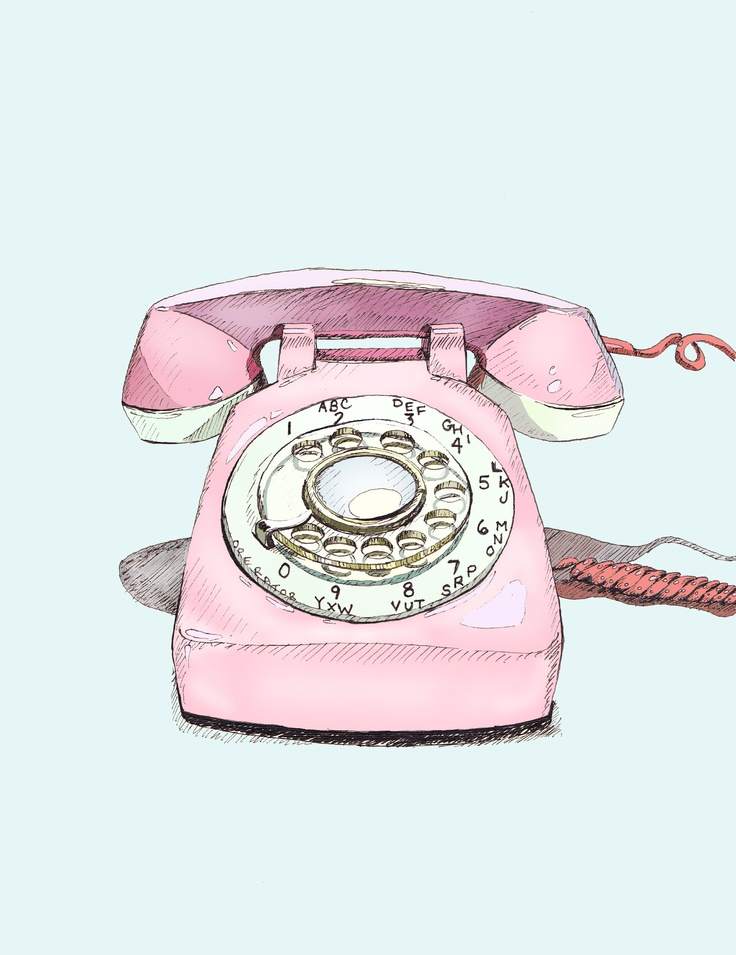 """""""Rotary Phone"""" by Foster Cranz..me!"""
