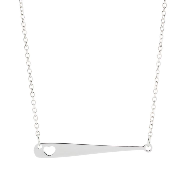 Grab this fan-favorite! This Baseball or Softball Bat Necklace is perfect for fans, players and supportive moms!