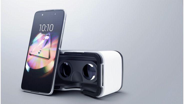 Smartphones Alcatel Idol 4+ et Idol 4S + packaging de réalité virtuelle