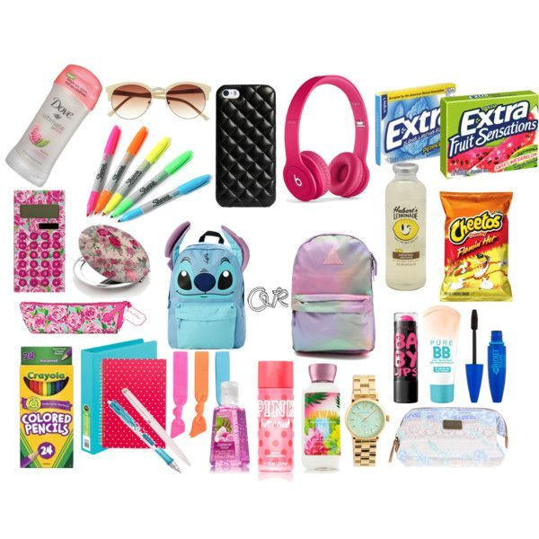 Image result for girl school stuff for