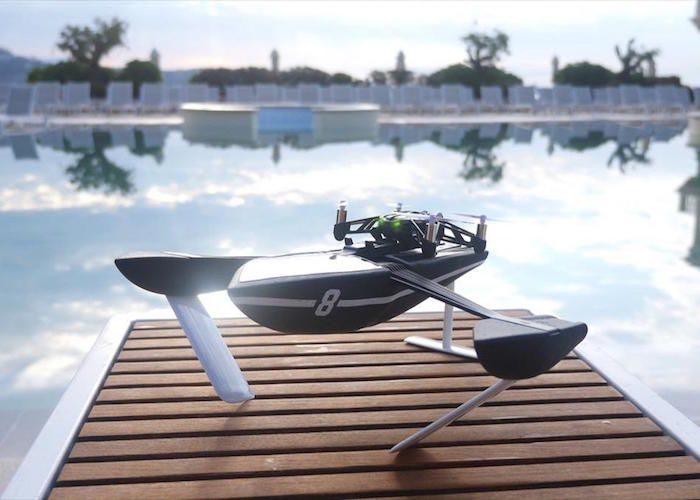 Take your drone flying skills all the way to the waters with the Hydrofoil Drone by Parrot.