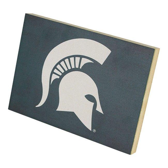 Michigan State University Color Logo At Campus Den