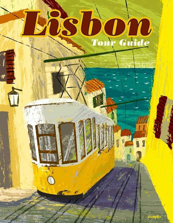 Lisbon #tourism #guide by Michael Crampton