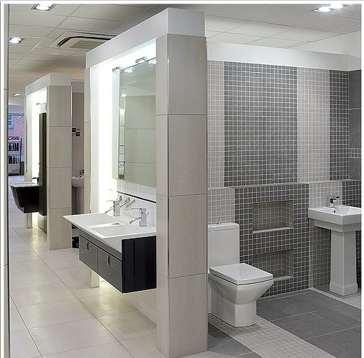 Bathroom Remodeling Showrooms Interior