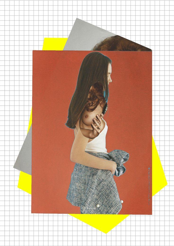Robert Kuta, fashion collage, 2015 www.robertkuta.com