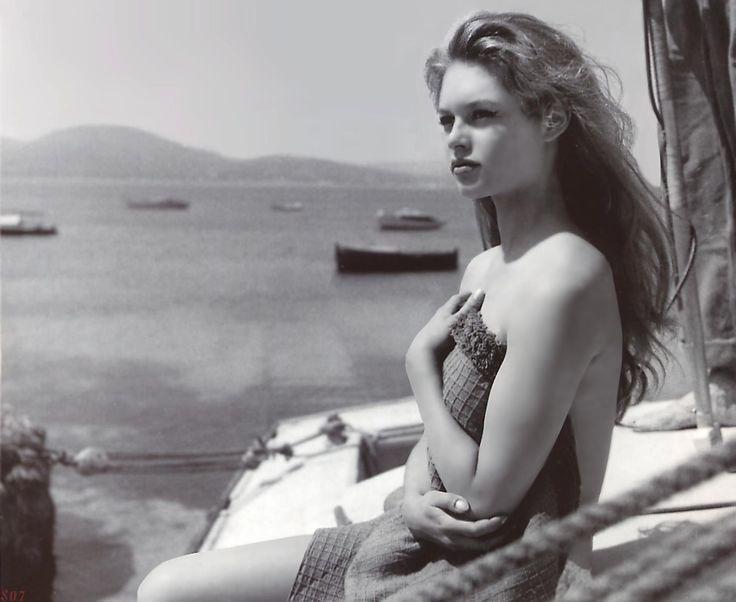 May 1964 ..Brigitte Bardot in Mykonos