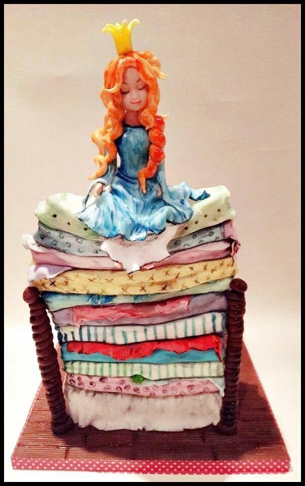 Princess the Pea cake