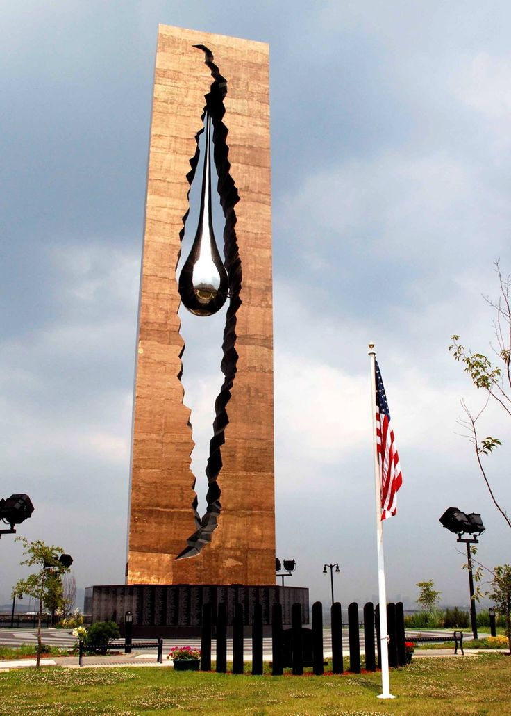 "Why was this not in the news? Russia gave us this beautiful 100' tall statue to honor the victims of 911, yet we have never seen anything on the news about it. It is located in NJ. across from NYC. It is called the ""Tear Drop Memorial""."