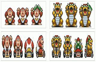 GATCHASTITCH: Super Mario Kart