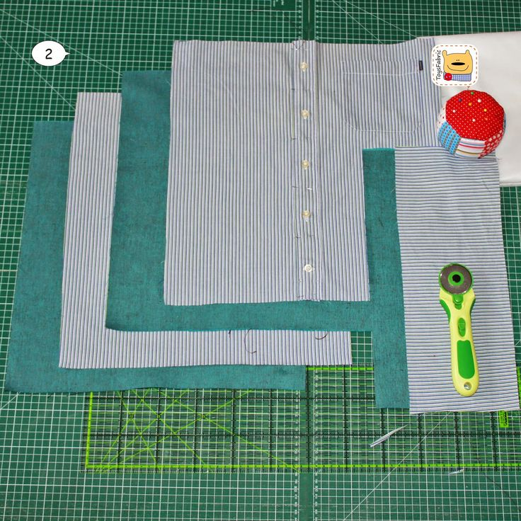 Interesting tutorial of how to DIY bag from old man shirt