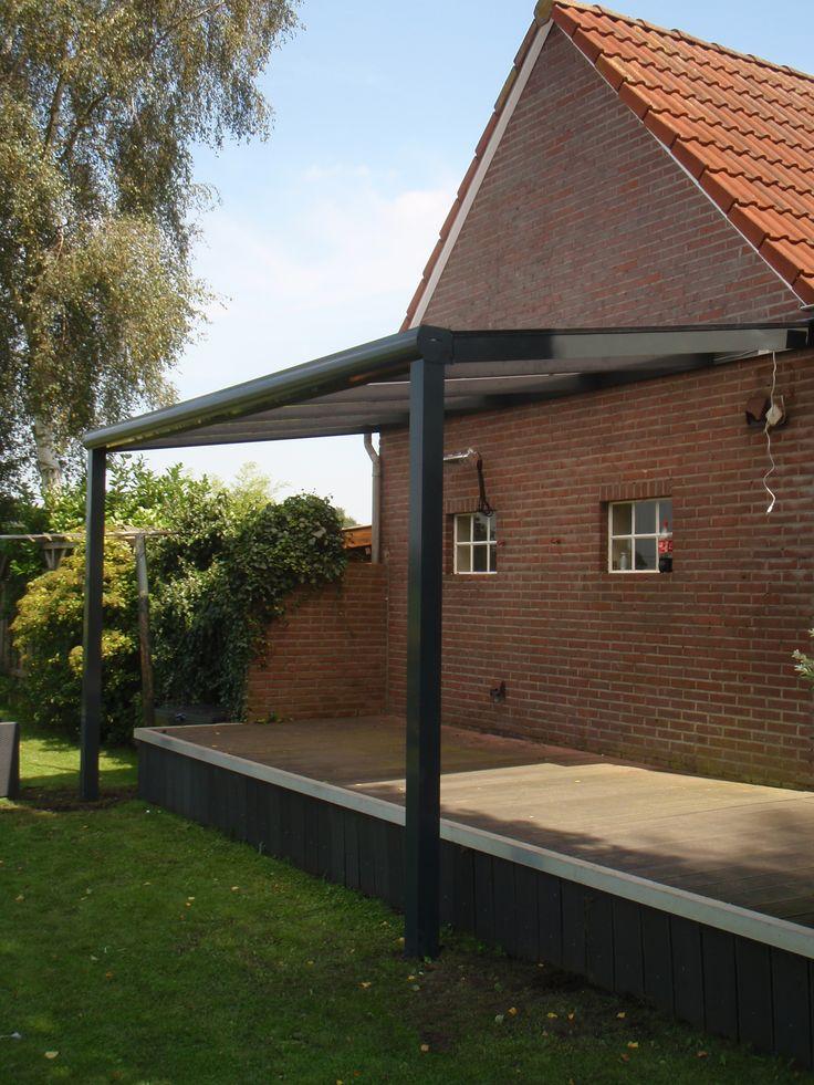 143 best images about aluminium veranda terrasoverkapping tuinmani on pinterest - Modern tuinmodel ...
