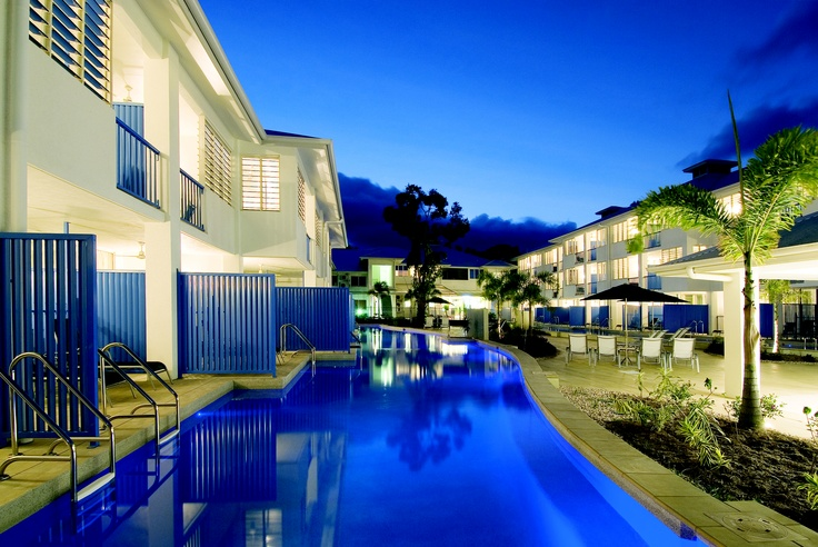 Oaks Lagoons, Port Douglas -  Pool - Night