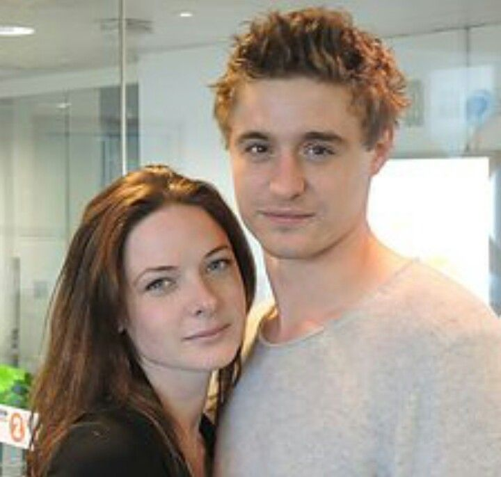Rebecca Ferguson and Max Irons - he even looks Ginger here ...