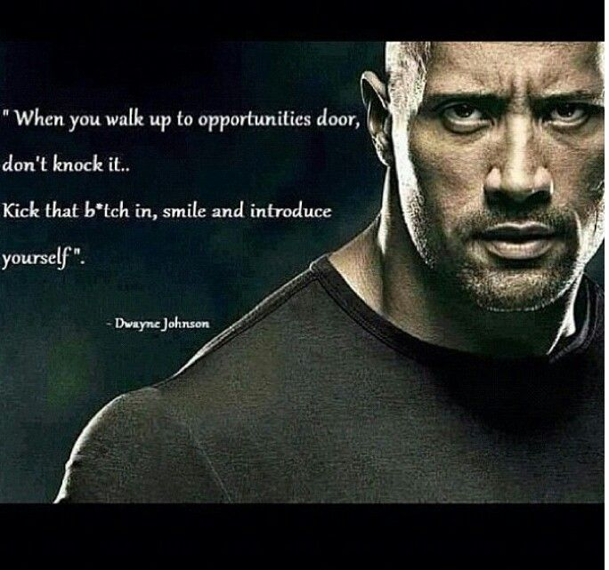 Perfect The Rock Quote