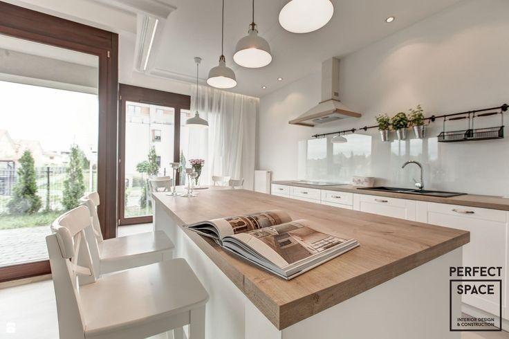 Zdjęcie Kuchnia styl Skandynawski  Kuchnia  Styl   -> Ile Kosztuje Kuchnia W Bloku