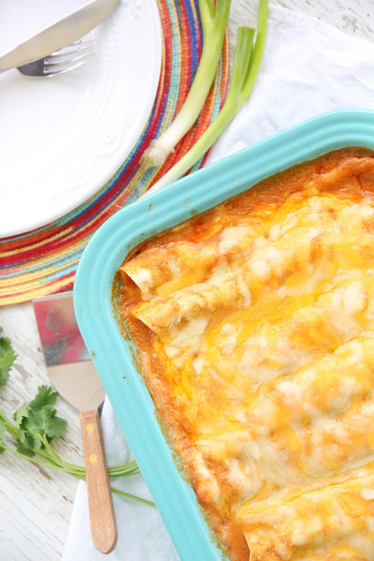 The Best Chicken Enchiladas-homemade ingredients, indulgent but healthy(ish) and loaded with flavor. Our Best Bites