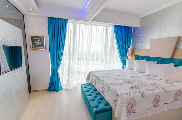 A luxury matrimonal bed,at Phoenicia Luxury Hotel 4*