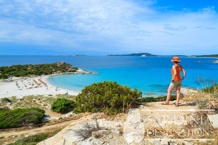 Punta Molentis Beach in South East Sardinia