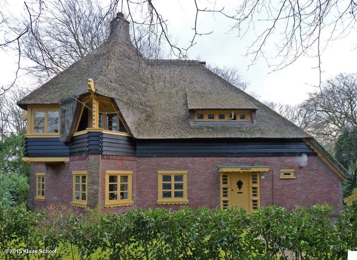 C.J. Blaauw, villa Meerhoek, Park Meerwijk Bergen 1917-1918