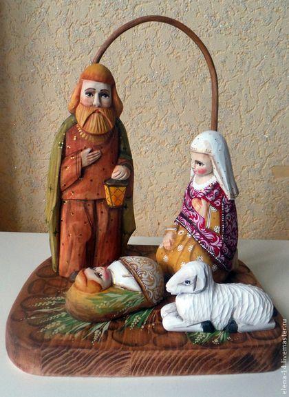 - ручная работа Рождественский вертеп. Handmade.