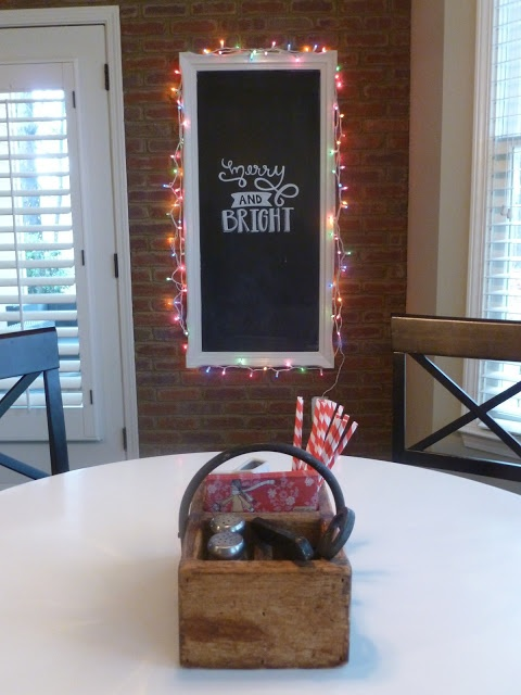 Merry & Bright Chalkboard   Little Baby Garvin.