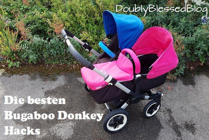 Die besten Bugaboo Hacks! Die hilfreichsten Tricks aus 3 Jahren Lebenserfahrung mit dem Bugaboo Donkey :-D Zwillingswagen, Geschwisterwagen, Elternhack, Zwillinge, Mama-Alltag mit Kind
