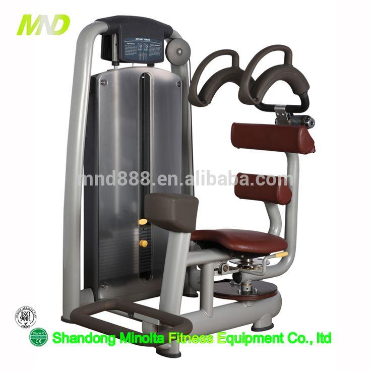 Strenght Machine Gym Equipment Popular Fitness Equipment MND AN35 Rotary Torso Strength Training Bodybuilding Equipment