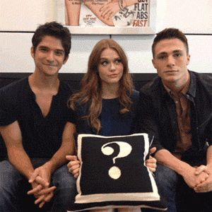 Tyler Posey  Holland Roden  Colton Haynes