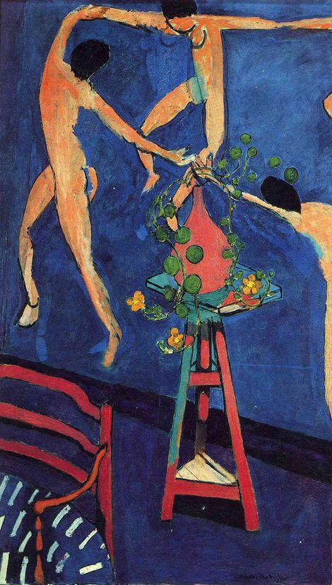 Henri Matisse, Nasturtiums with The Dance II,1912 on ArtStack #henri-matisse #art