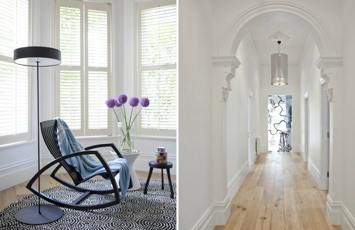 Located in Hawthorn, Melbourne, this Edwardian residence has had a complete interior renovation throughout. Warm colours and clean, neutral materials have resulted in a lovely revival.