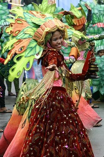 Sinulog - Fiesta in the Philippines. #Philippines
