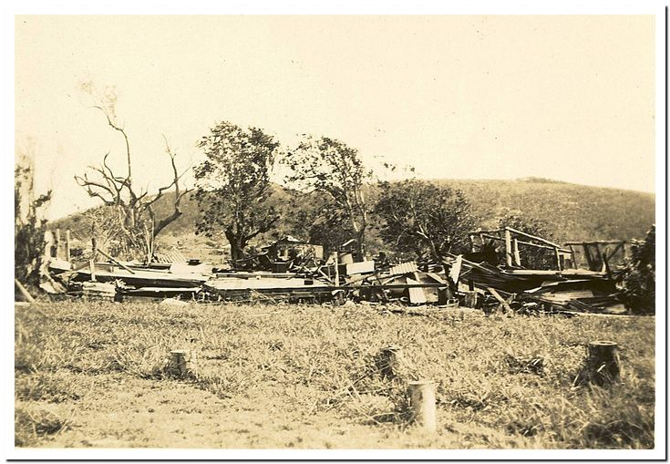 1949 Cooktown Cyclone: Harry Dolan's place.