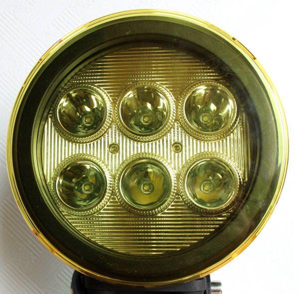 LED Work Light 7 дюймов 60 Вт 12 В 24 В Пятно Светильник Трактор Грузовой Автомобиль Прицеп Внедорожник внедорожник Лодка 4WD 4x4