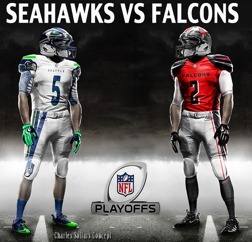 seahawks vs falcons #seahawks #falcons #playoffs #nfl