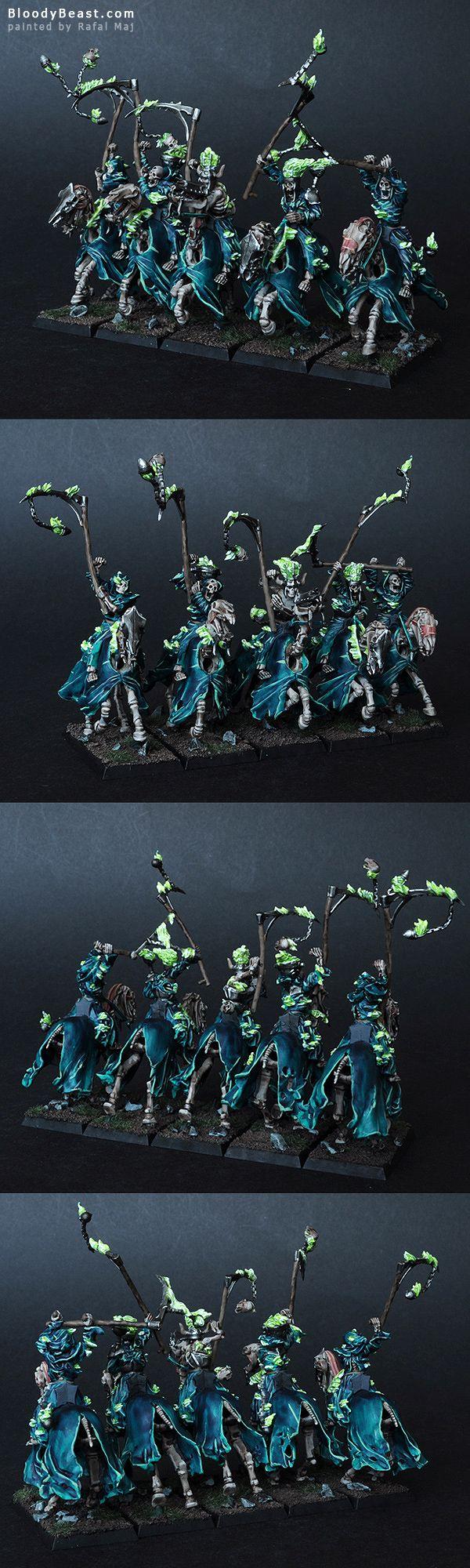 Vampire Counts Hexwraiths painted by Rafal Maj (BloodyBeast.com)