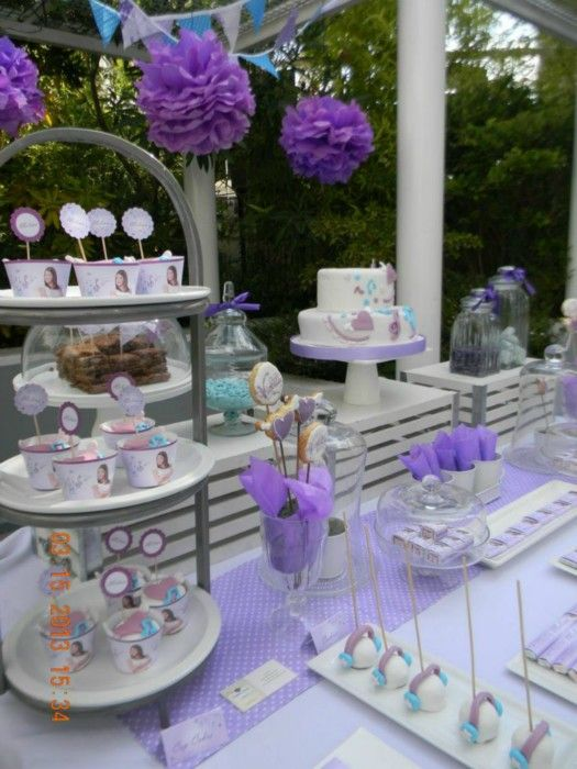 Idées de décorations Violetta pour un anniversaire réussi !! - sofcrea.fr