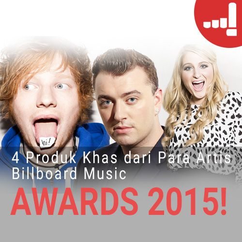 Artikel Lulu: 4 Produk Khas dari Para Artis Billboard Music Awards 2015