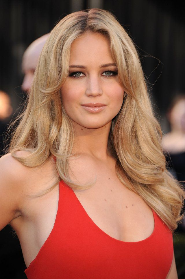 Jennifer Lawrence at the 83rd annual Academy Awards ceremony (the Oscars) in Los Angeles, 2011.
