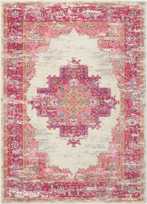 NEW: Oriental Passion Ivory Rug, a modern synthetic rug with an oriental vintage look (machine-woven, polypropylene, 3 sizes) http://www.therugswarehouse.co.uk/modern-rugs3/passion-modern-rugs/oriental-passion-ivory-rug.html